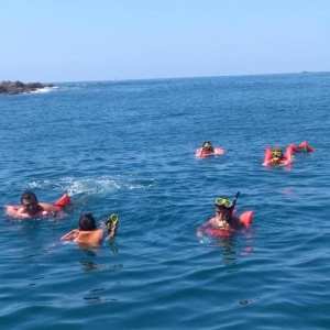 Snorkeling at Marino Ballena National Park